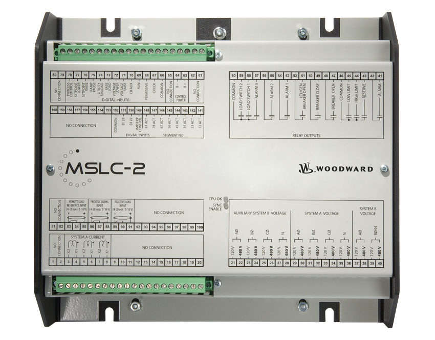 Power Management MSLC-2 Front Panel